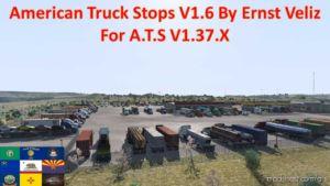 American Truck Stops V1.6 By Ernst Veliz for American Truck Simulator