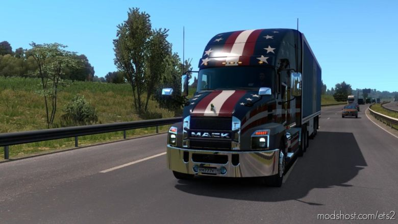 Mack Anthem By SCS [1.37] for Euro Truck Simulator 2