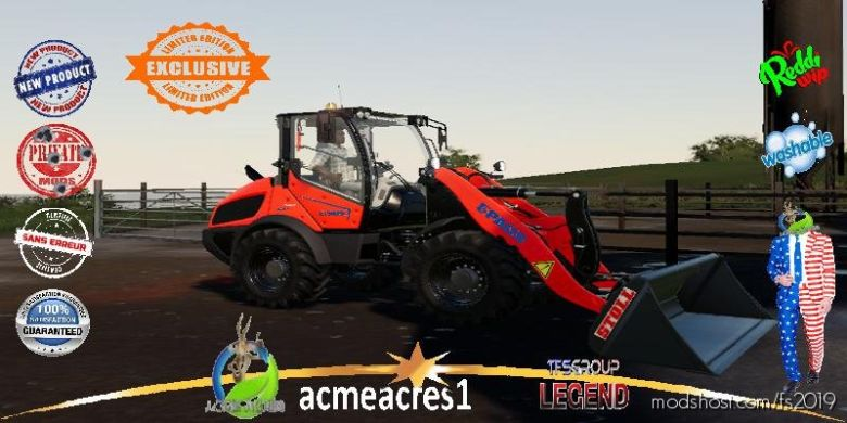 Chargeuse Paus RL 6.7 V1.5 for Farming Simulator 19