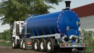 Kumm Tanker Semi-Trailer for Farming Simulator 19