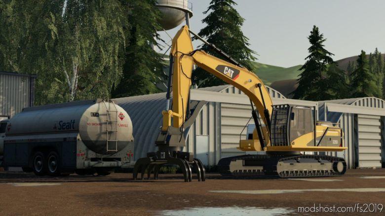 CAT 325DL Excavator for Farming Simulator 19