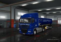 Lagrange Group Combo Skin For DAF XF 105 And Wielton Trailer for Euro Truck Simulator 2