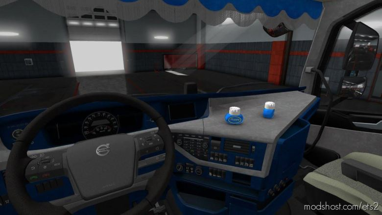 Volvo FH 2016 Interior [1.36.X] for Euro Truck Simulator 2
