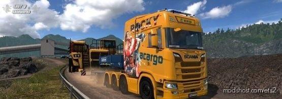 Acargo Gmbh Scania Skin Pack for Euro Truck Simulator 2