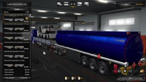 Combined Tank Trailer Owned for Euro Truck Simulator 2