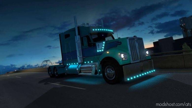 Kenworth W990 V29.04.20 [1.37] for American Truck Simulator