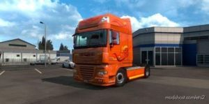 1.37 DAF Skin XF ART Edition Multicolor Skin for Euro Truck Simulator 2