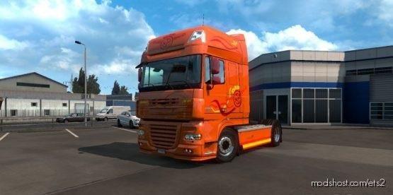 1.37 DAF Skin XF ART Edition Multicolor Skin for Euro Truck Simulator 2