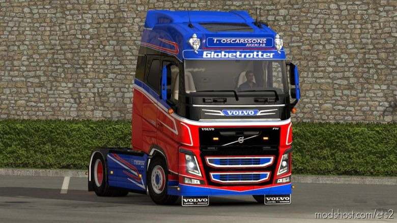 T. Oscarssons Akeri AB Volvo FH4 Skin for Euro Truck Simulator 2