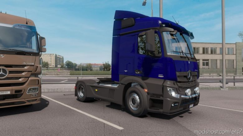 Mercedes-Benz Actros MP4 FIX V1.3 [1.37] for Euro Truck Simulator 2