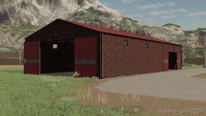 RED Brick Garage for Farming Simulator 19