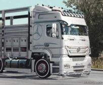 Mercedes Benz Axor 1840 Truck & Centipede [1.36.X] for Euro Truck Simulator 2