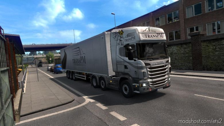 Transpm Scania R2009 + Trailer Skin for Euro Truck Simulator 2
