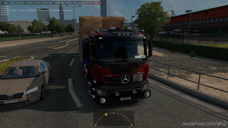 Mercedes Antos 12 V1.37.0.65 for Euro Truck Simulator 2