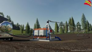 Lindsay Zimmatic Pivot 124M Placeable V2.0 for Farming Simulator 19