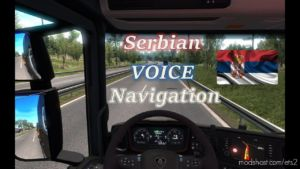 Serbian Voice Navigation V0.0.0.45 Beta for Euro Truck Simulator 2
