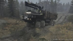 "Oshkosh ""Huntsman"" Truck V3 for MudRunner"