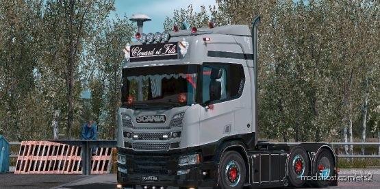 Scania R Clouard ET Fils for Euro Truck Simulator 2