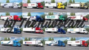 SCS 53FT Trailer&Truck Skin Pack V1.2 for Euro Truck Simulator 2