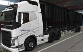 Skin Volvo FH16 2012 Imediato Transportes [1.37] for Euro Truck Simulator 2
