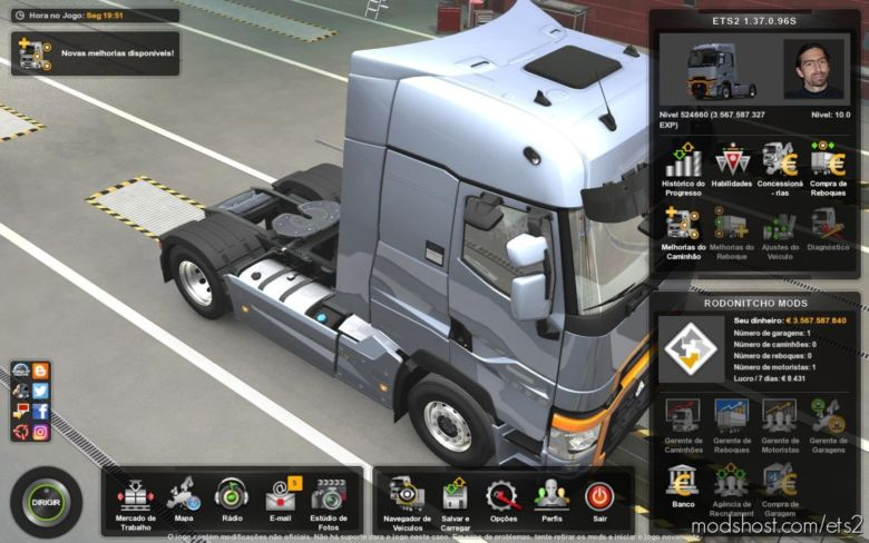 Profile 3.567.000.000 Euros [1.37] for Euro Truck Simulator 2
