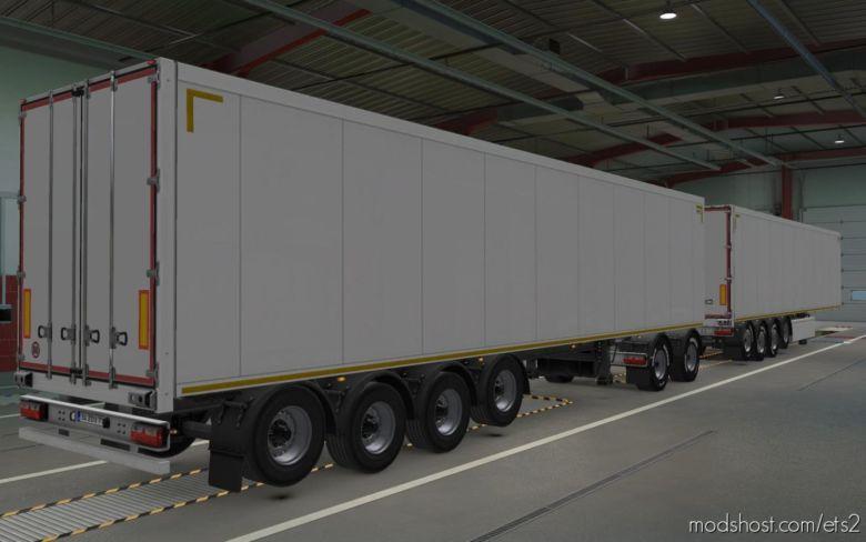 Unlocked Scandinavian Trailers [1.37] for Euro Truck Simulator 2