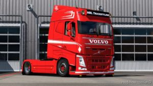 Paintable Mpt-Style Skin For Volvo FH2012 for Euro Truck Simulator 2
