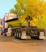 Dump Truck Smithco Side Dump Double In Ownership for American Truck Simulator