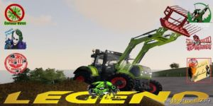 Claas Axion 500/600 FL V1.5 for Farming Simulator 19