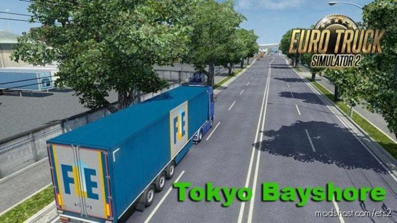 Tokyo Bayshore Remake Speedy [1.36] for Euro Truck Simulator 2