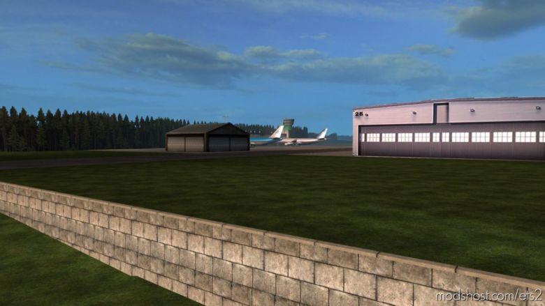 Leipzig/Halle Airport V1.1 for Euro Truck Simulator 2