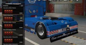 Rear Bumper Holland Style RJL for Euro Truck Simulator 2