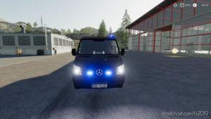 Mercedes Benz Sprinter 2014 SEK for Farming Simulator 19