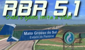 Mapa RBR 5.1 Final [1.36] for Euro Truck Simulator 2