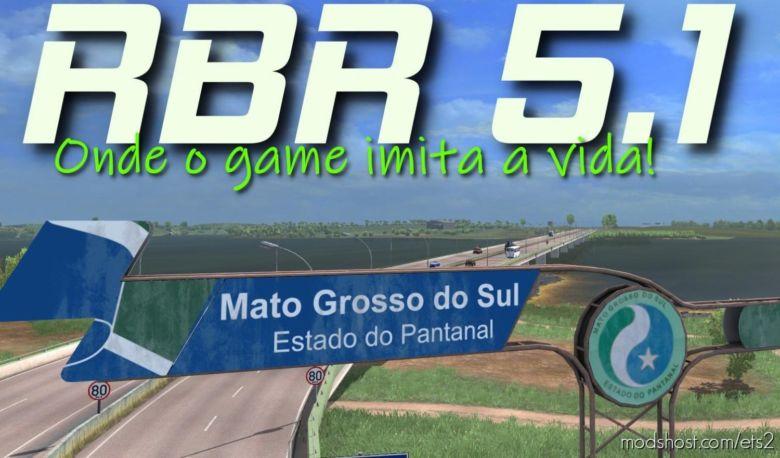 Mapa RBR 5.1 Final [1.36] for Euro Truck Simulator 2