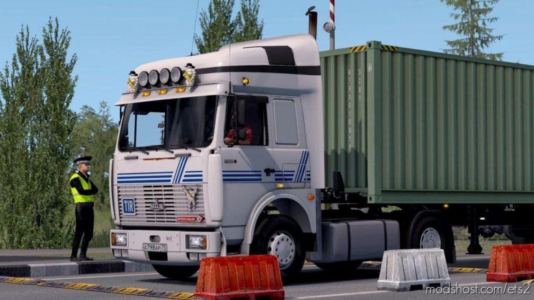 MAZ 5432 Road Spirit [1.36.X] for Euro Truck Simulator 2