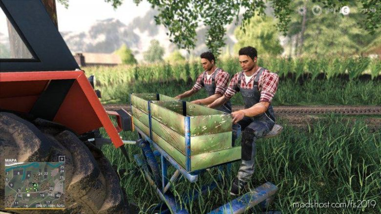 Sadzarka Stara for Farming Simulator 19