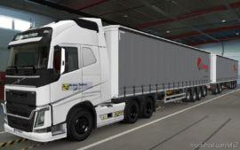 Skin Volvo FH16 2012 Kraker Trailers [1.37] for Euro Truck Simulator 2