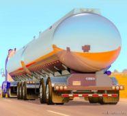 Advanced B-Train Tanker -Updated- [1.37] for American Truck Simulator