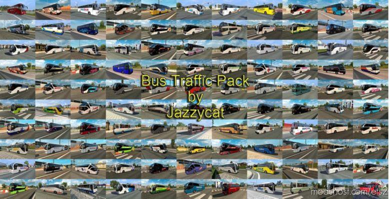 BUS Traffic Pack V9.4.1 for Euro Truck Simulator 2
