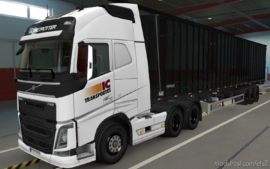 Skin Volvo FH16 2012 IC Transportes [1.37] for Euro Truck Simulator 2