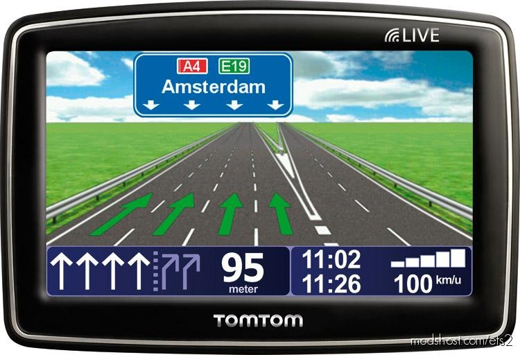 TOM TOM Dutch Voice [1.37.X] for Euro Truck Simulator 2