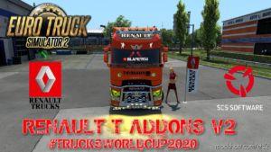 Renault T Addons V2 [1.37] for Euro Truck Simulator 2