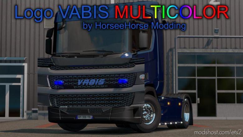 Logo Vabis Multicolor [1.37.X] for Euro Truck Simulator 2