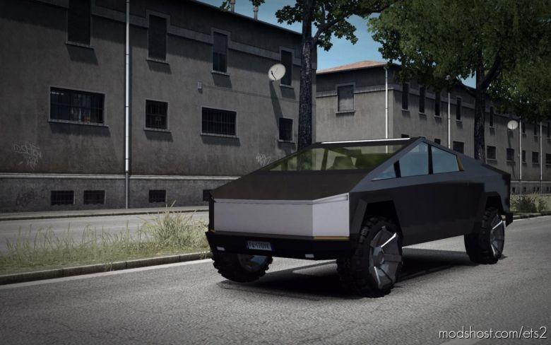 Tesla Cybertruck [1.37] for Euro Truck Simulator 2