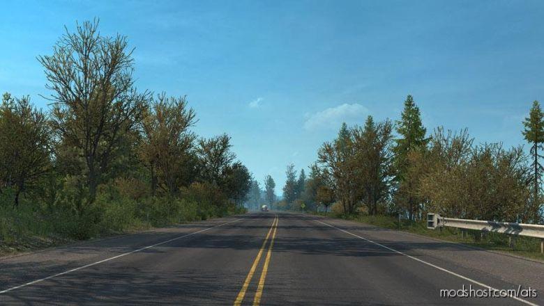 Late Autumn/Mild Winter V2.5 for American Truck Simulator