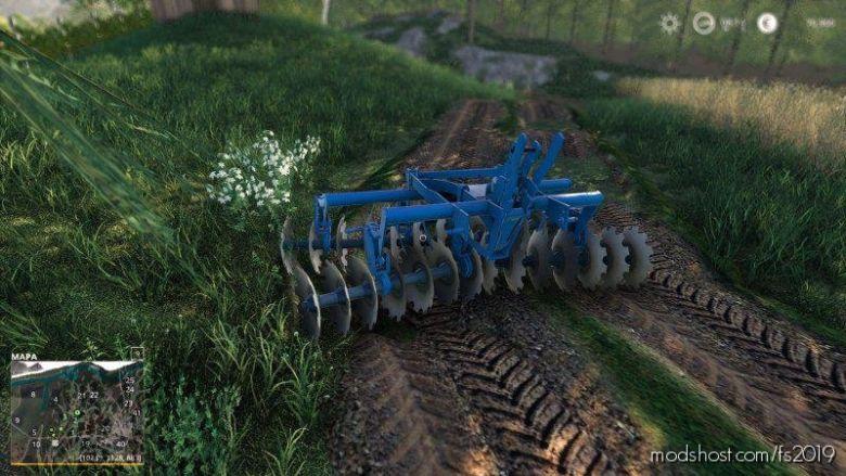 Talerzowka Olta Sava for Farming Simulator 19