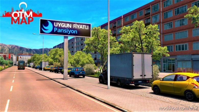 Onal Turkey Map V1.2 [1.37.X] for Euro Truck Simulator 2