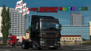 Logo Besser Multicolor [1.37.X] for Euro Truck Simulator 2