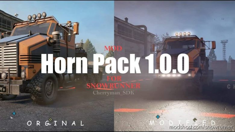 Indian Trucks Horn Pack for SnowRunner